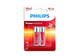 BATERIA ALKALICZNA PHILIPS LR6 POWER LIFE
